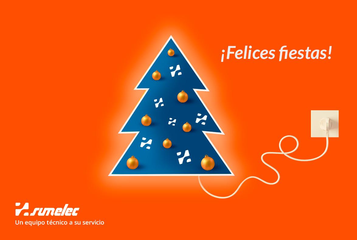 Feliz Navidad y Próspero Año nuevo de parte de todo el equipo de Sumelec