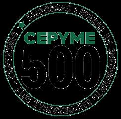 Elegidos por CEPIME 500 como líderes en crecimiento 2017