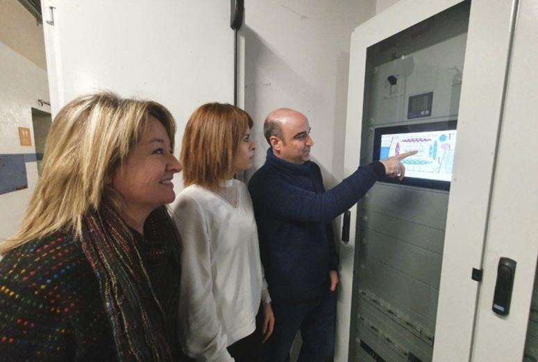 Innovador sistema de calefacción para el Mercado de Santo Domingo